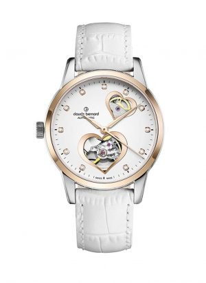Orologio Automatico donna bernard open heart 85018 37r bpr2