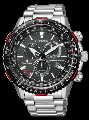 Orologio Cronografo uomo citizen radiocontrollato cb5001-57e