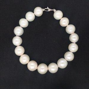 Gioiello Bracciale donna miluna perla celestiale pbr2525