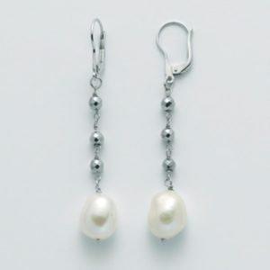 Gioiello Orecchini donna miluna le perle regina per2359