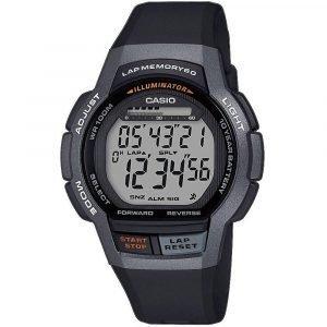 Orologio Digitale Multifunzione uomo casio casio sports ws-1000h-1avef