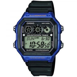 Orologio Digitale uomo casio casio collection ae-1300wh-2avef
