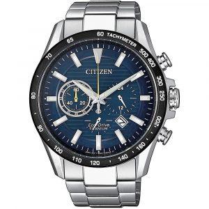 Orologio Cronografo uomo citizen super titanium ca4444-82l