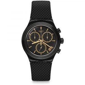 Orologio Cronografo donna e uomo swatch essential yvb408