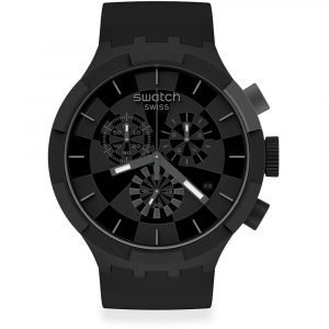 Orologio Cronografo donna e uomo swatch swatch big bold chrono sb02b400