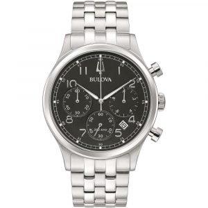 Orologio Cronografo uomo bulova crono precisionist 96b357