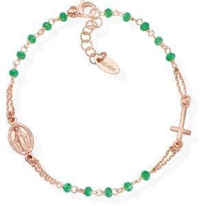 Gioiello Bracciale donna amen rosari bro25rm3