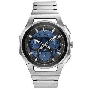 Orologio Cronografo uomo bulova curv progressive 96a205