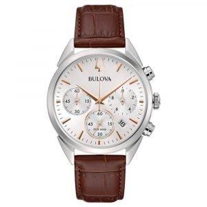 Orologio Cronografo uomo bulova high precision 96b370